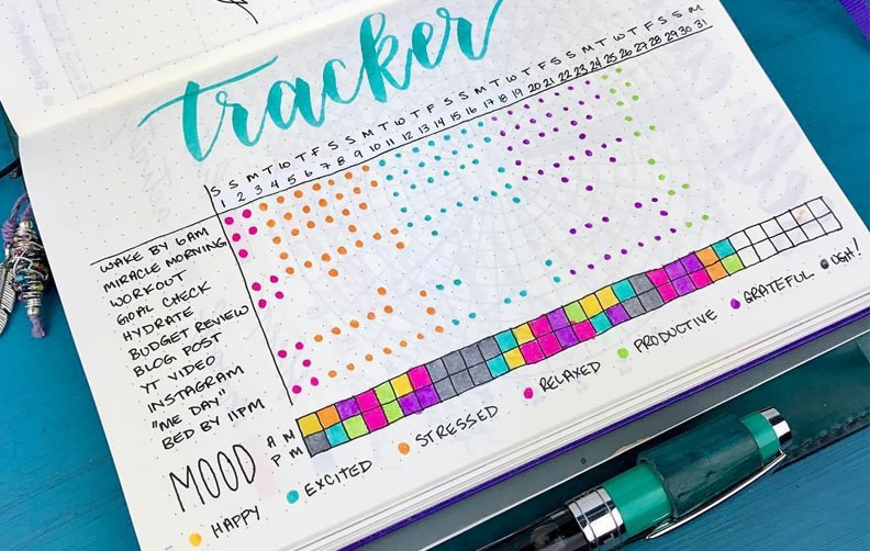 ejemplo habit tracker