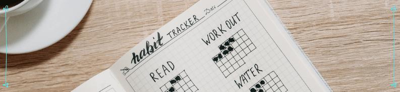 habit trackers bullet journal